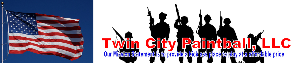 Twin City Paintball LLC logo